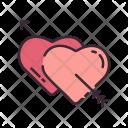Couple Hearts Cupid Icon