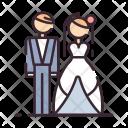 Bride Groom Wedding Icon