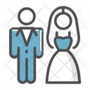 Wedding Couples Couple Marriage Icon
