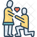 Couple Valentines Day Icon