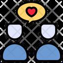 Conversation Communication Love Icon