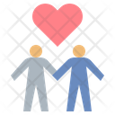Couple Love Lovers Icon