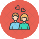 Couple Love Romance Icon