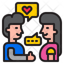 Couple Message Valentine Icon
