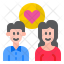Couple Romance Valentine Icon
