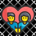 Couple Heart Lover Icon
