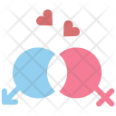Couple Lovers Romance Icon