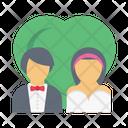 Couple Love Wedding Icon