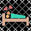 Couple Lovemaking Kisses Icon