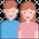 Couple Relationship Love Icon