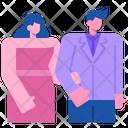 Wedding Heart Valentine Icon