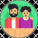 Spouse Couple Friends Icon