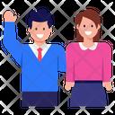 Pair Couple Spouse Icon