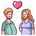 Heart Girlfriend Couple Icon