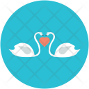 Couple Bird Nature Icon