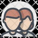Couple Love Feeling Icon
