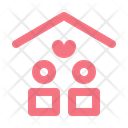 Couple At Home Icon