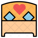 Couple Bed Icon