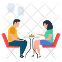 Couple Discussion Icon