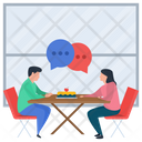Table Talk Gossips Consultation Icon