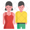 Couple Flat Icon