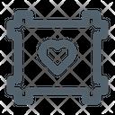 Couple Frame Frame Love Icon