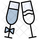 Couple Glasses Icon