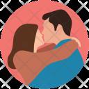 Couple hug Icon
