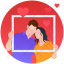 Couple In Frame Icon