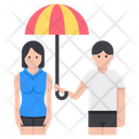 Couple Insurance Icon