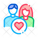 Couple Love Icon
