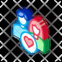 Heart Girl Man Icon