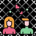 Couple Love Relationship Icon