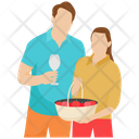 Picnic Outdoor Picnic Honeymoon Icon
