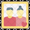 Photo Frame Wedding Icon
