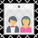 Picture Wedding Couple Icon