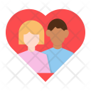 Photo Couple Heart Icon
