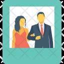 Couple photo-frame Icon