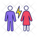 Couple Quarrel Icon