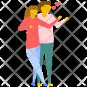 Couple Taking Selfie Icon