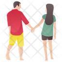 Couple Walk Icon