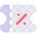 Coupon Discount Sale Icon