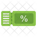 Coupon Discount Voucher Icon