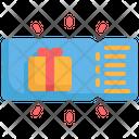 Coupon Voucher Box Icon