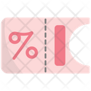 Shopping Voucher Icon