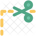 Coupon Scissor Cutting Icon