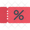 Coupon Commerce Hand Icon