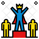 Courageous Winner Competition Icon