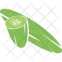 Cucumber Zucchini Courgette Icon