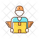 Courier Service Delivery Icon